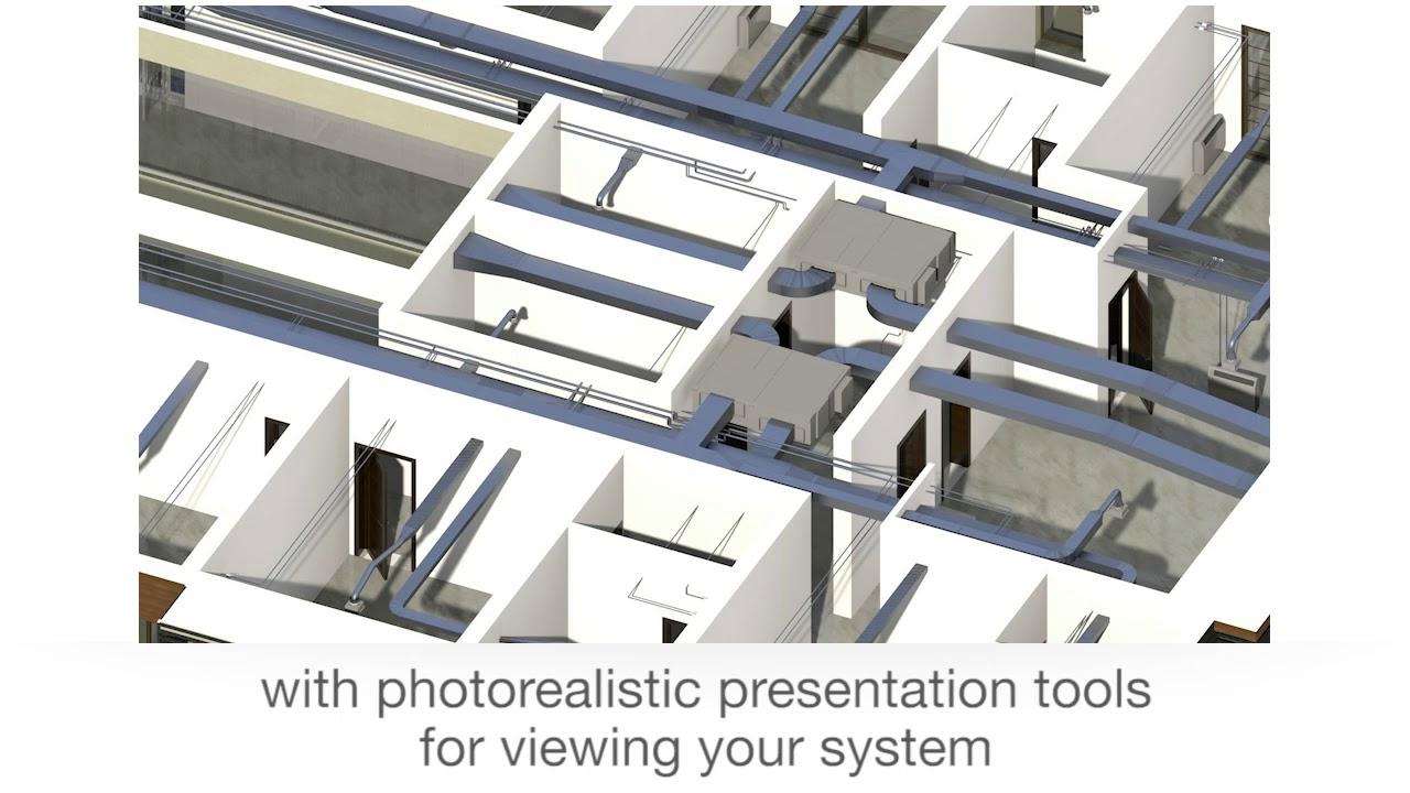 The BIM software for MEP installation systems (mechanical, electrical and  plumbing)