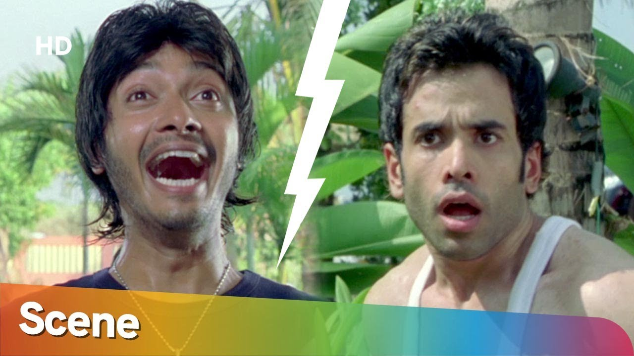 Tusshar Kapoor & Shreyas Talpade funny fight Scene - Golmaal Returns Comedy Scene -