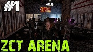 Custom Zombies - ZCT Arena | A GREAT Looking Challenge Map! (Part 1)