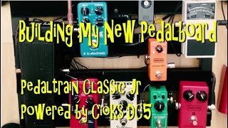 Pedaltrain Classic Jr BOARD BUILD. + CIOKS DC5