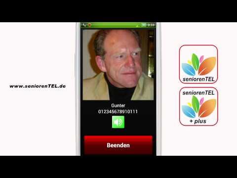 Seniorenhandy von seniorenTEL.de - 112 und SOS der Apps seniorenTEL starten