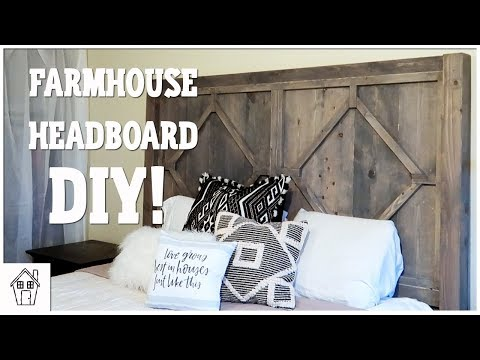 DIY FARMHOUSE HEADBOARD | RE DOING OUR MASTER BEDROOM!