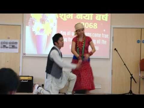 Dali Palayo ,Dance (Bracknell Nepalese Society, Ne...