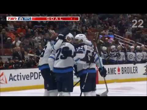 Patrik Laine First 35 Goals 2017-18 Season (+ Preseason)