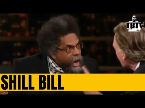 BILL MAHER BLAMES CORNEL WEST FOR HILLARY'S LOSS, AGAIN!