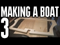 How to Build Small Wooden Boat #3 Not Using Marine Plywood - Electric Powered - Hull Frames Assembly