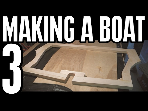 How To Build A Wooden Boat With Plywood From Home Depot Youtube