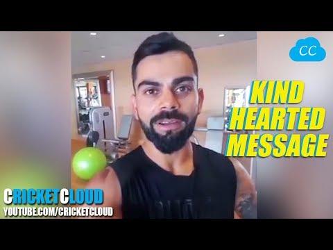 VIRAT KOHLI KIND HEARTED MESSAGE FOR PAKISTAN & ALEEM DAR 2018 !!