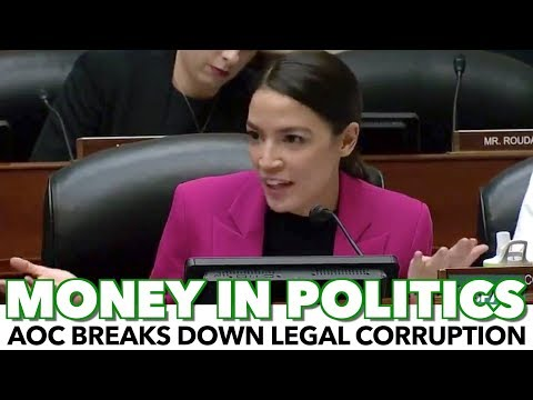 AOC Masterfully Breaks Down How Money Affects Politics
