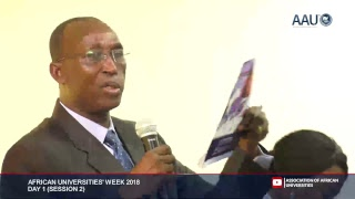 AAU Coverage: Vice Chancellors' Forum - African Universities Week, 2018 (Day 1)