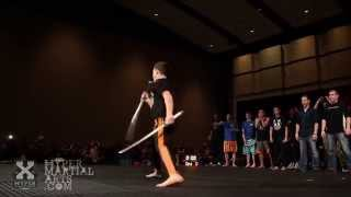 Jacob Pinto vs Jimmy Kane - Sword Battle @ Hyper Games - AmeriKick 2014