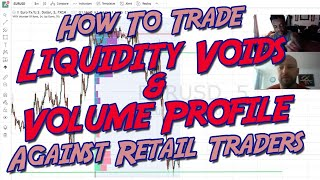 How To Trade Liquidity Voids, Volume Profile & Against Retail Traders