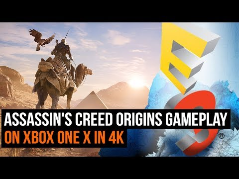 30 minutes of Assassin's Creed Origins gameplay on Xbox One X in 4K