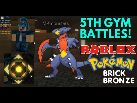 BEATING THE 5TH GYM WITH 1 POKEMON! Brick Bronze NEW CITY -  MKmonsters