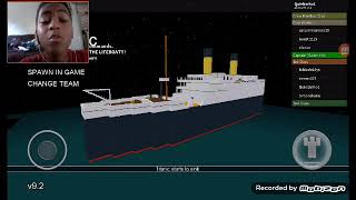 The Titanic sank and I was there! ROBLOX