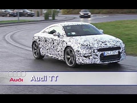 Audi prépare activement la troisième mouture du coupé TT, attendue au Mondial de l
