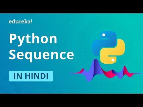 Python Sequences in Hindi   Learn Python Lists, Tuples, Sets, Dictionaries, Strings   Edureka Hindi thumbnail