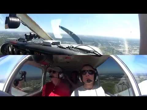 2016 Sun 'n Fun Lake Parker VFR busy arrival