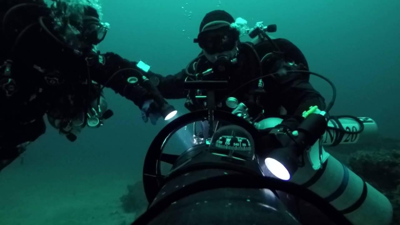 Tech Diving Short Bank Santa Monica Bay Los Angeles Ca Youtube