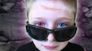 Ghost Boy with Red Alien Eye - Tracking - After Effects