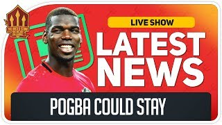 Pogba Stays if Solskjaer Goes? Man Utd News Now