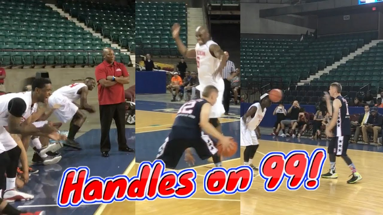 Professor vs Serious Athletes Mind blowing moves and ankle breakers