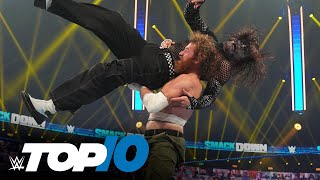 Top 10 Friday Night SmackDown moments: WWE Top 10, Oct. 2, 2020