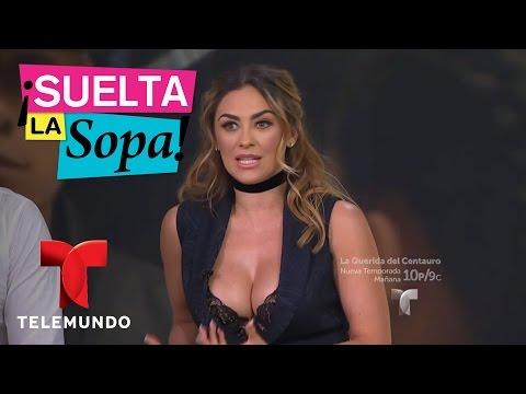 Aracely Arámbula, David Chocarro y Danna Paola aquí   Suelta La Sopa   Entretenimiento