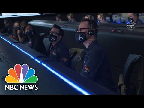 Watch '7 Minutes Of Terror' As NASA Perseverance Rover Descends To Mars | NBC News