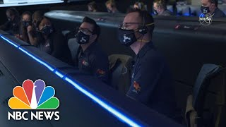 Watch '7 Minutes Of Terror' As NASA Perseverance Rover Descends To Mars | NBC News