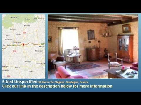 5-bed Unspecified for Sale in St Pierre De Chignac, Dordogne, France on frenchlife.biz