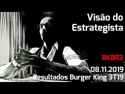 08.11.2019 - Visão do Estrategista - Resultados Burger King 3T19 - BKBR3