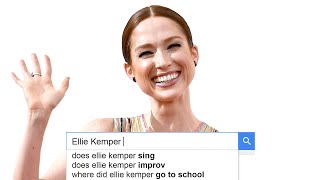 Ellie Kemper Answers the Web's Most Searched Questions | WIRED