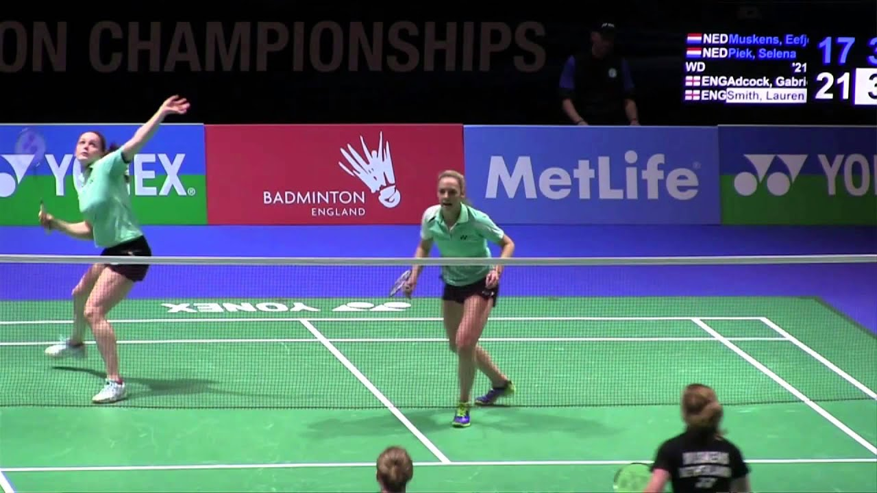 Yonex All England Badminton Championships Gabby Adcock & Lauren