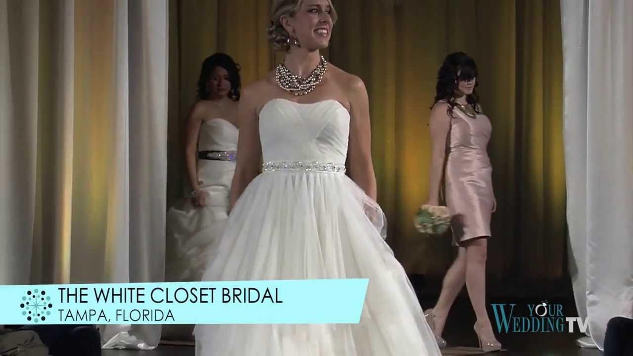 Florida Wedding Expo Tampa   Fashion Show   Janaury 2013   White Closet  Bridal