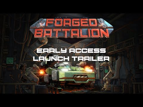 Forged Battalion - Steam Early Access Launch Trailer
