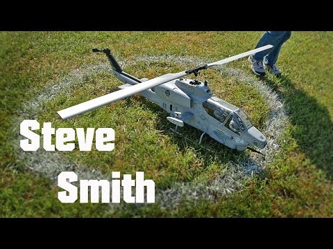 Steve Smith flying AH-1 Cobra at IRCHA Scale Contest 2017