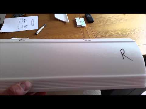 DIY Coving tutorial - How to mitre cut and put up ceiling coving edging.