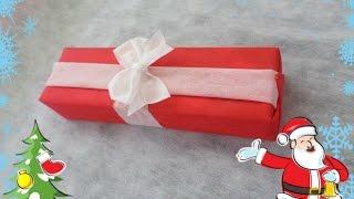 Como embrulhar Presentes com TNT