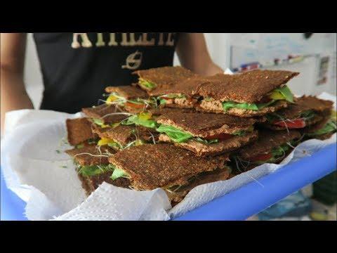 Raw Vegan Sandwich, Potluck & Friends