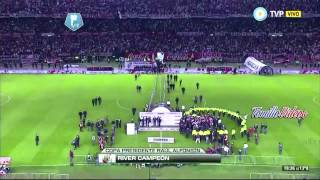 RIVER CAMPEON TORNEO FINAL 2014! HD River 5 Quilmes 0
