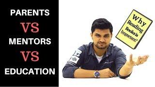 PARENTS vs MENTORS vs SCHOOL (HINDI) | SeeKen | किताबें क्यों पढ़नी चाहिए ?