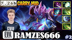 Ramzes - Arc Warden | CARRY MID 7.26b Update Patch | Dota 2 Pro MMR Gameplay #2