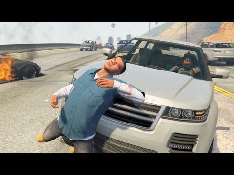 GTA V Unbelievable CrashesFalls - Episode 103