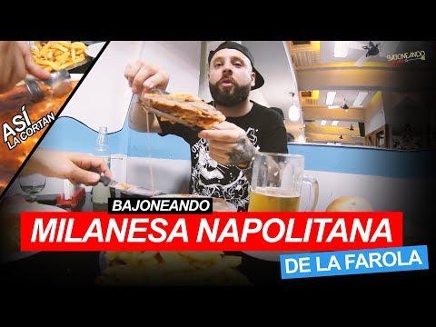 Bajoneando Milanesa Napolitana de la Farola