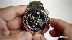 Seiko How-To Video: Perpetual Chronograph With Caliber V198