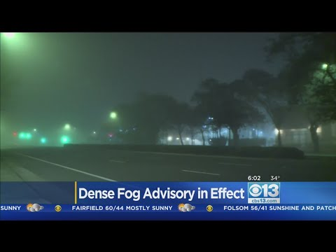 Patchy Fog In Sacramento Valley