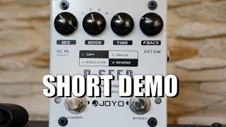 Joyo/Harley Benton D-SEED Delay - Short Version, just the playing !!!