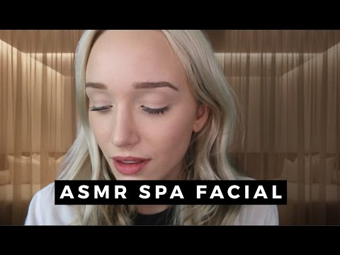 ASMR SPA FACIAL ROLEPLAY (gloves, hair brushing, personal attention) | GwenGwiz