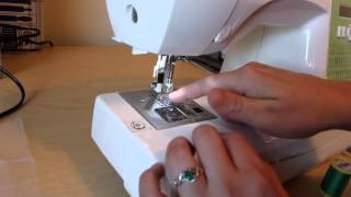 How to embroider on a home sewing machine